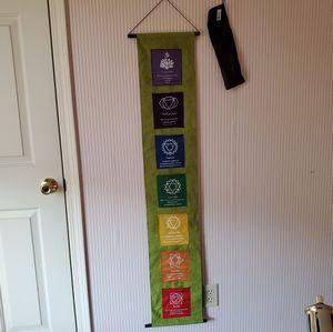 Chakra Banner Wall Hanging